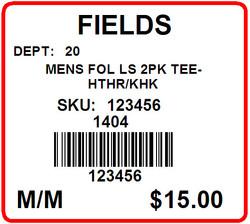 FIELDS - LABEL - 1.25 X 1.125