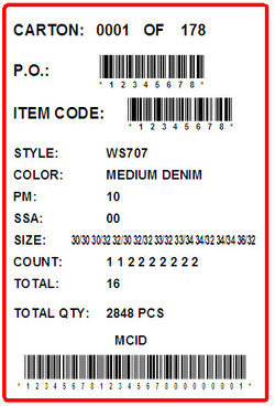 FOREVER 21 - LABEL - 4 X 6