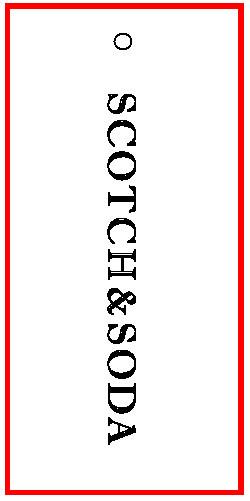 SCOTCH & SODA - TAG - 2.625 X 1.25 BACK
