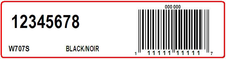 CLARKS - LABEL - 4 X 1