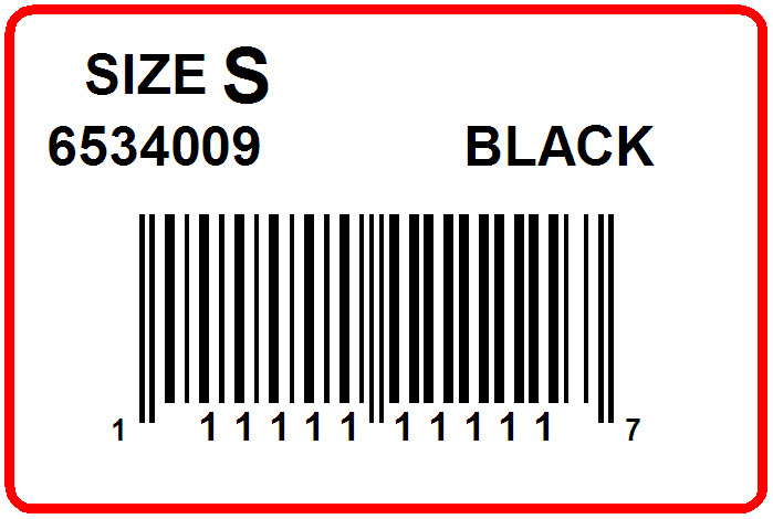 DILLARDS - LABEL - 1.5 X 1