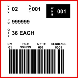 KMART - LABEL - 4 X 4