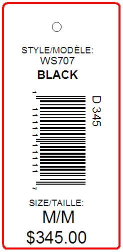 HBC - TAG - 2.625 X 1.25