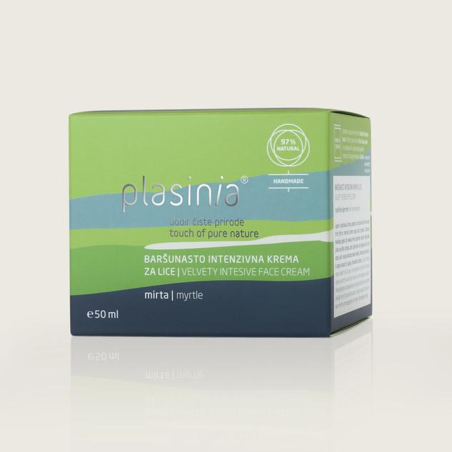 Velvety Intensive Face Cream Packaging