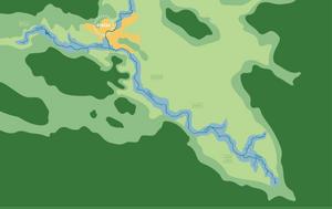 An Illustration Of The River Gacka | Plasinia