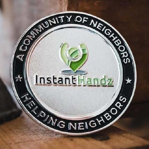 Purchase an InstantHandz Challenge Coin