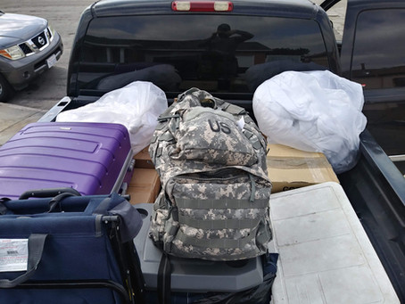 3,500 Hygiene Products are Donated to the Veteran Community