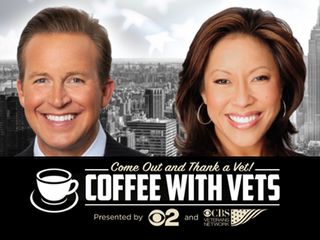 Come Out and Thank a Vet at our next Coffee with Vets event in NYC November 8th