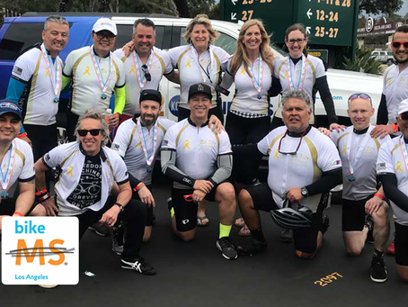 3rd year Team CBS has participated in Bike MS Los Angeles