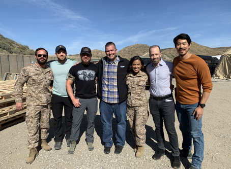 ViacomCBS Vet Net had the opportunity to visit the amazing cast and crew of SEAL Team on set