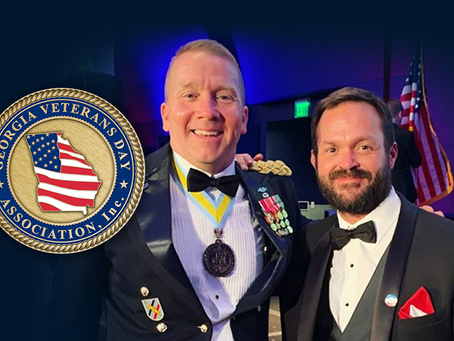 SEAL Team's Judd Lormand serves as the Honorary Grand Marshal for Georgia Veterans Day Parade