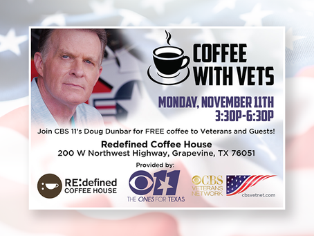 Coffee with Vets in Dallas/Fort Worth on Veterans Day