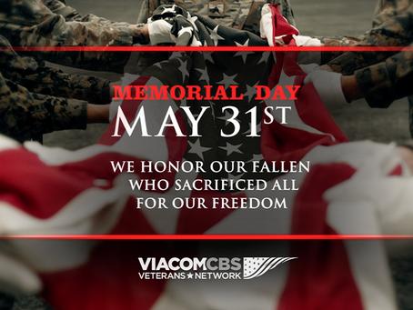 ViacomCBS Veterans Network Honors Memorial Day