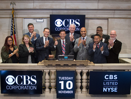 CBS Veterans Network Rings the NYSE Closing Bell