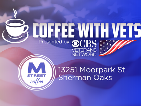Coffee with Vets at M-Street Coffee