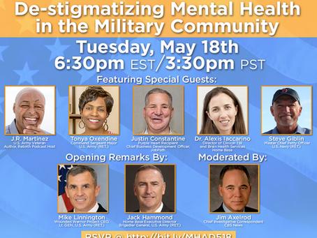 MHAD: De-Stigmatizing Mental Health in the Military Community