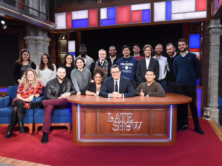 American Corporate Partners at the Late Show with Stephen Colbert