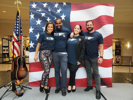 CBS Vet Net Members & SEAL Team Cast members attend Military Support Day in Pittsburgh!