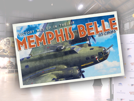 """Smithsonian's """"MEMPHIS BELLE IN COLOR"""" screened across several cities"""