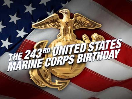 243rd Birthday Celebration of the US Marine Corps