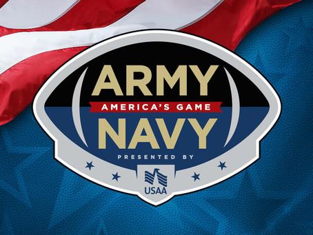 ViacomCBS Veterans Network members attend the Army-Navy Game