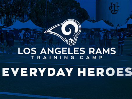 LA RAMS - Everyday Heroes training camp practice