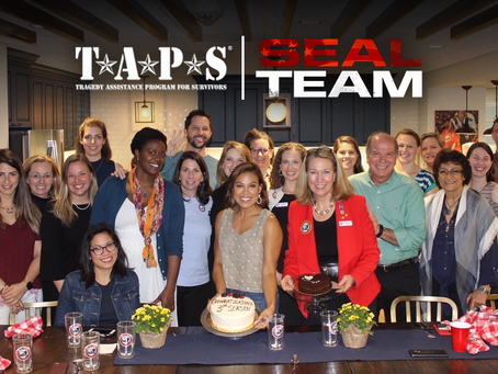 Toni from SEAL Team heads to TAPS Headquarters