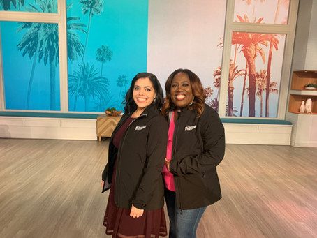 ViacomCBS Veterans Network Member Attends A Taping Of CBS Daytime Show, THE TALK