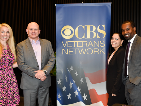 CBS Veterans Network distributed poppy seeds cards NYC