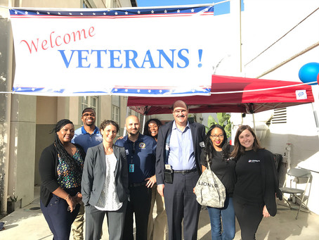 Sony Pictures Veterans Resource Fair