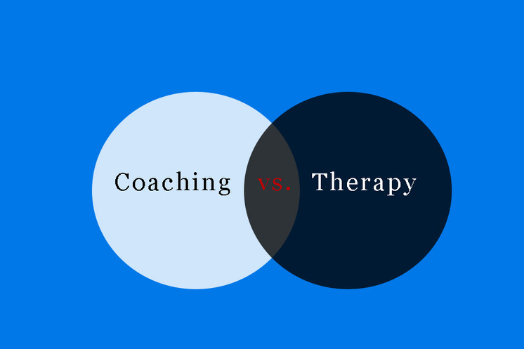 Gray Area Between Therapy and Coaching