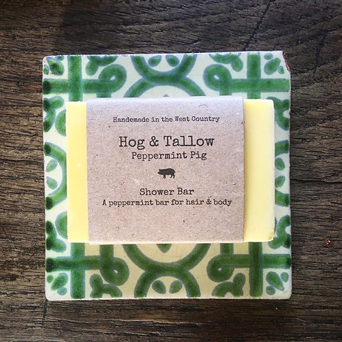 Peppermint Pig - Shower Bar