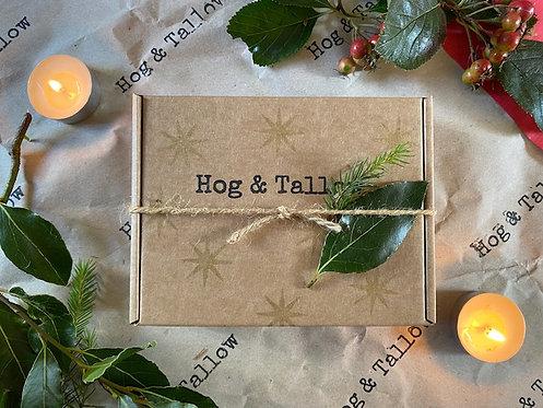 Christmas Soap Gift Box - 2 Soaps