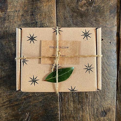 Christmas Gift Box - 4 soaps