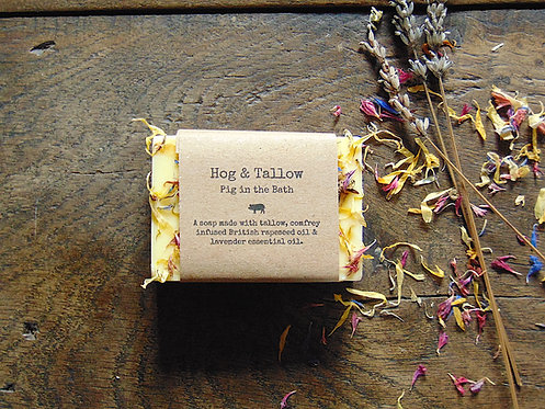 Pig in the Bath - Lavender Soap
