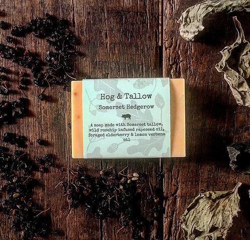 Somerset Hedgerow - Elderberry & Lemon Verbena Soap
