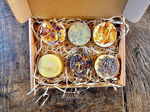 Hog and Tallow Gift Box - 6 small gift rounds