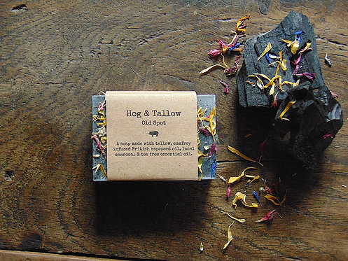 Old Spot - Tea tree & charcoal soap