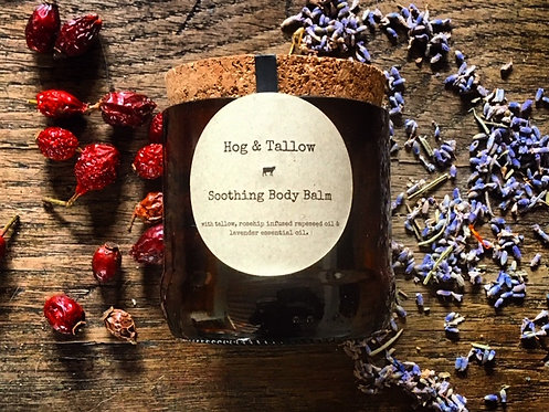 Soothing Tallow Balm - 100g recycled bottle jar