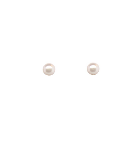 Akoya Pearl, Stud Earrings