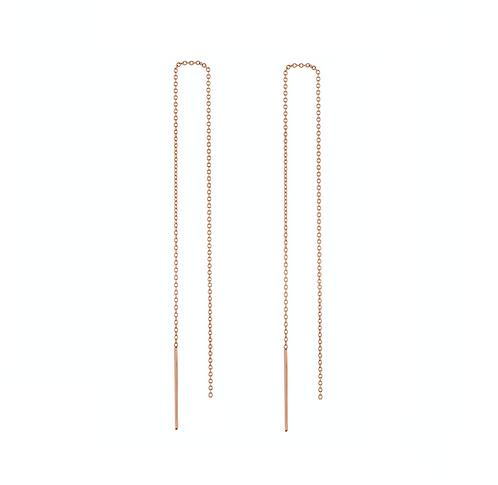 Fine Chain, Thread Earrings