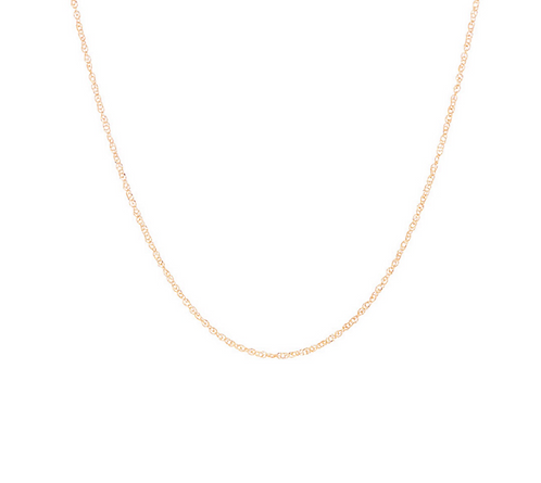 Thread Chain, Choker Necklace