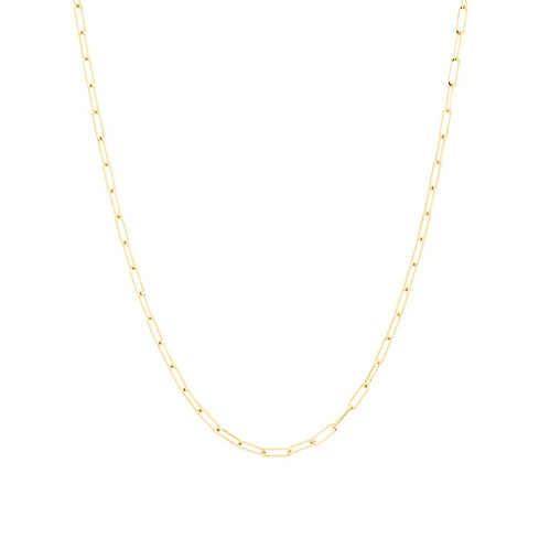 Raw Chain, Long Necklace