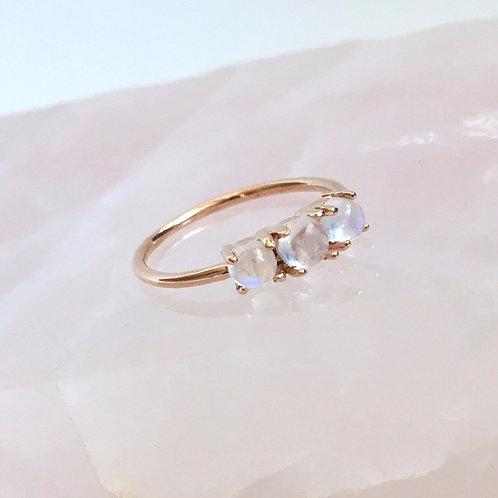Trinity Ring, Moonstones