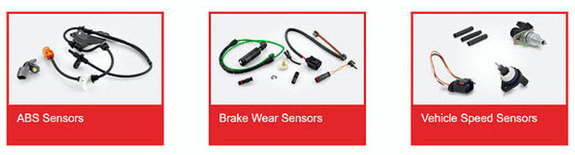 ABS Sensors, Brake Wear Sensors, Vehicle Speed Sensors