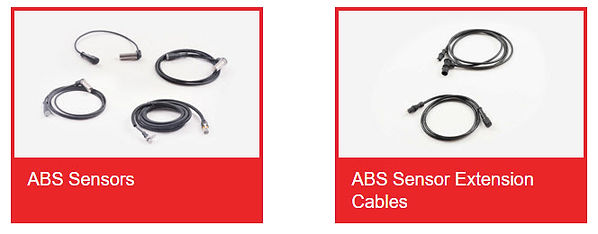 ABS Sensors, ABS Sensor Extension Cables