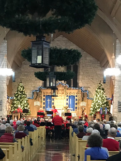 Albert Lea Communiry Band Grace Lutheran Church December 10th