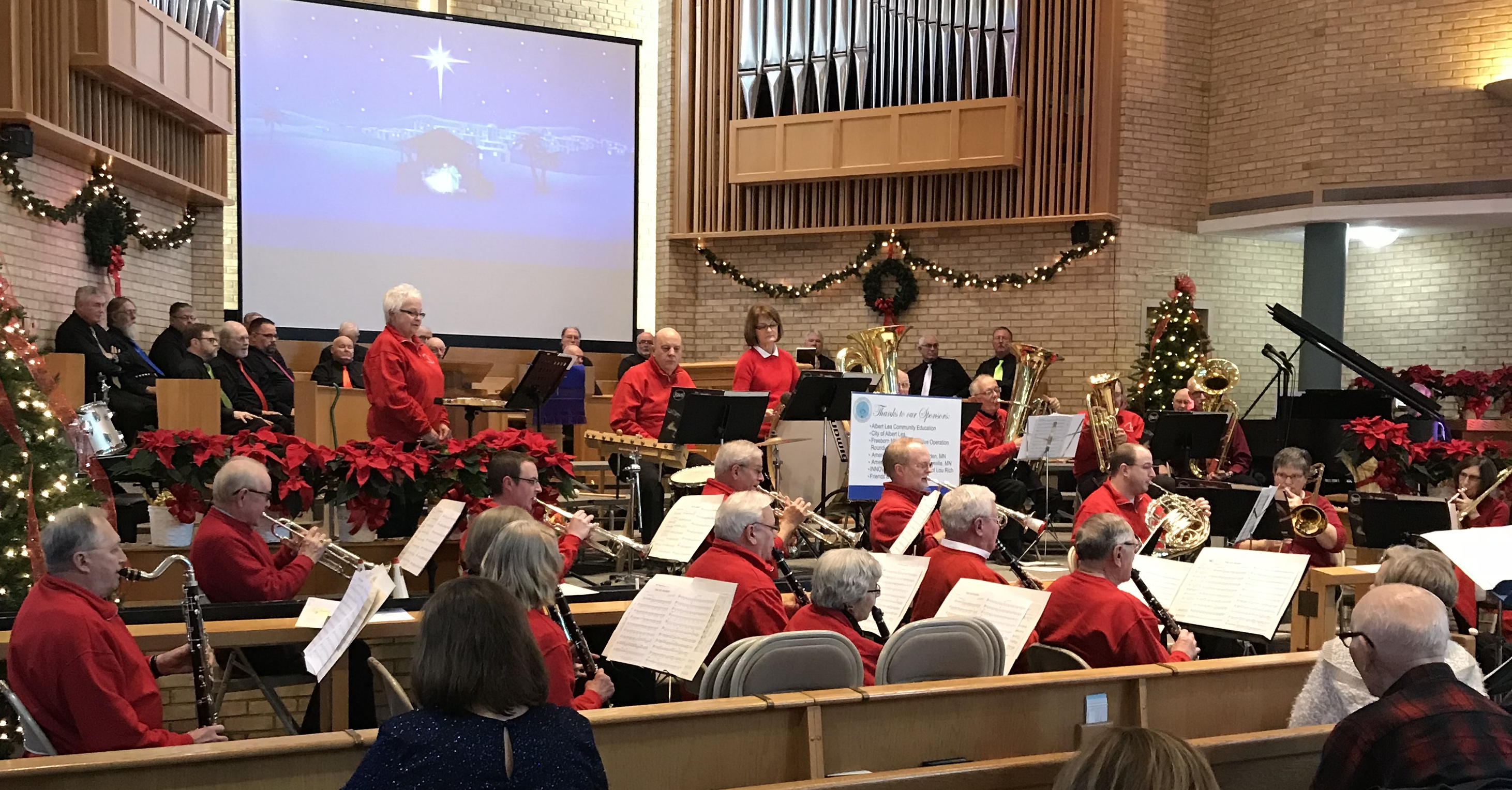 Band and Men's chorus Dec 17
