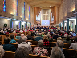 Faith Tones Choir Performance United Methodist  Church Dec 10th