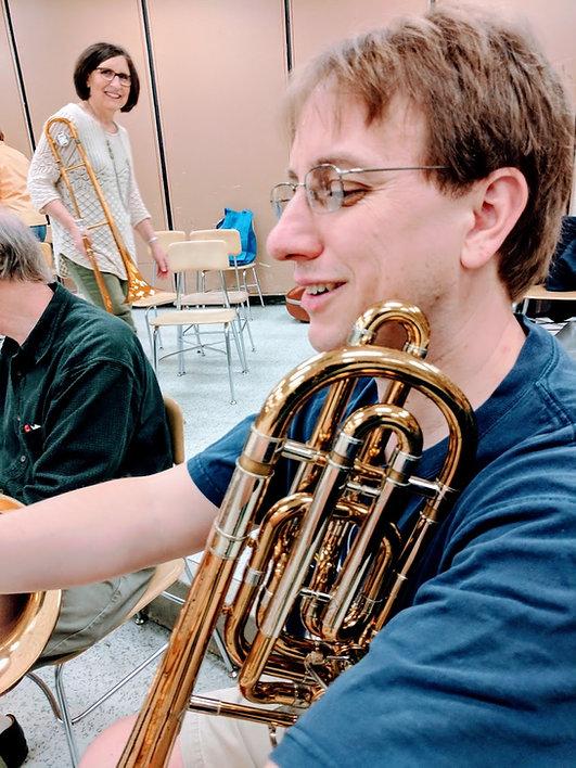 Albert Lea Band practice